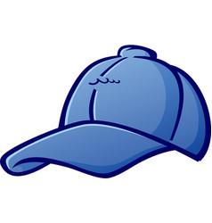Baseball cap cartoon hat vector