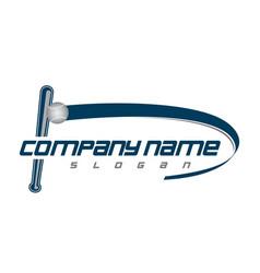 Baseball club logo vector