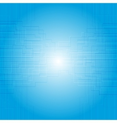 Blue tech texture design vector