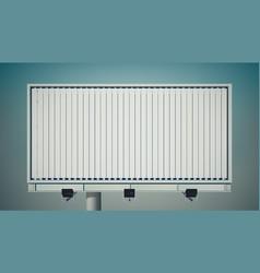 commercial horizontal billboard vector image