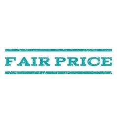 Fair Price Watermark Stamp vector image