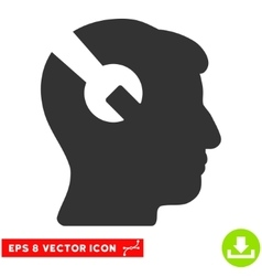 Head Surgery Wrench Eps Icon vector