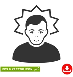 Inventor EPS Icon vector