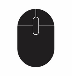 isolated mouse vector image