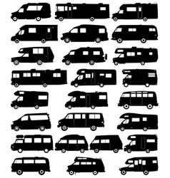 Rv Silhouette Vector Images Over 170