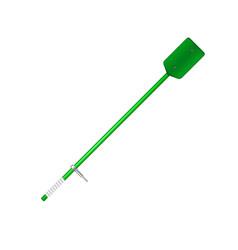 old oar in green design vector image