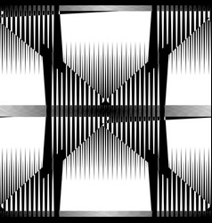 repeatable pattern abstract monochrome geometric vector image