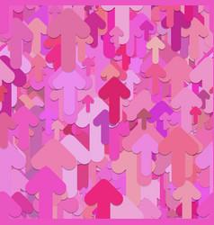 Seamless arrow background pattern vector