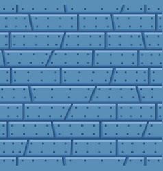 Steel wall cartoon seamless pattern vector