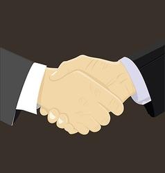 bussines partner vector image