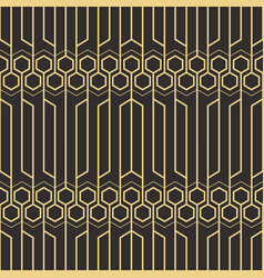abstract art deco pattern04 vector image