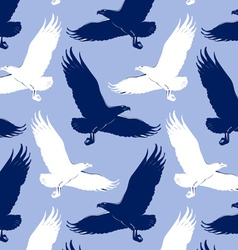 eagle background vector image vector image