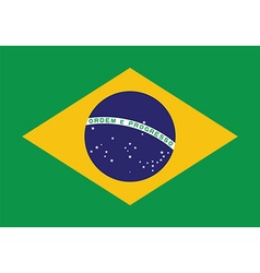 Brazil flag background Patriotic banner for vector image