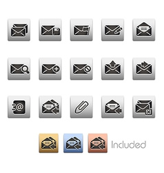 E mail Icons vector image