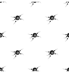 Fertilization icon in black style isolated on vector image