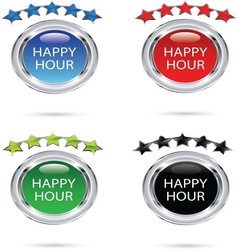 HAPPY HOUR resize vector image