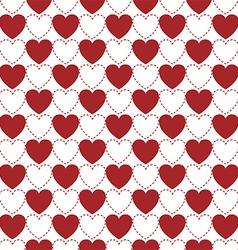 Hearts pattern vector