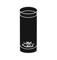 isolated object glass and mug icon graphic vector image