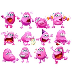 Monster actions vector