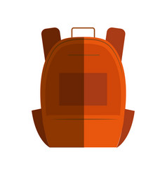 Schoolbag student isolated icon vector