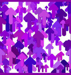 Seamless arrow background pattern - graphic vector