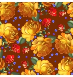 Seamless pattern in russian traditional style vector
