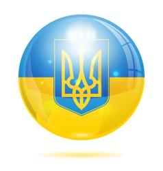 Ukraine symbol vector