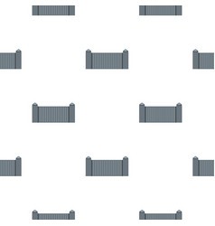 Stone fence pattern seamless vector