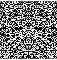 Swirly pattern vector image vector image