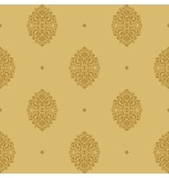 Vintage seamless background baroque vector image