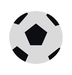 classic football icon vector image