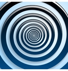 Blue spiral and gray background graphic vector