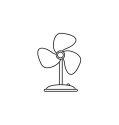 fan electronic icon vector image