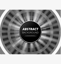 modern of abstract black and white background vector image
