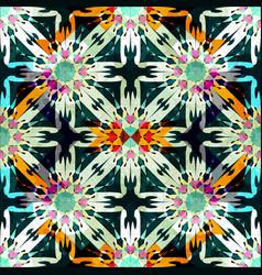 ornament beautiful seamless pattern with mandala vector image