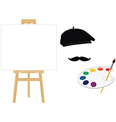 Painting school concept vector image