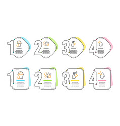 Sponge washing cleanser and clean dishes icons vector