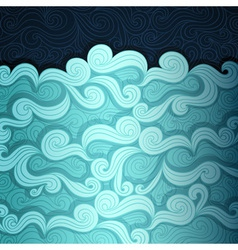 The Sea Banner vector