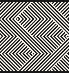 geometric lines pattern stripes zigzag shapes vector image