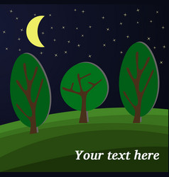 forest-17 vector image vector image