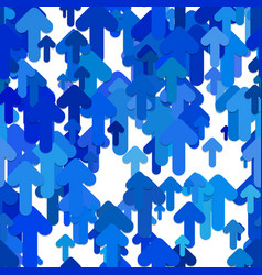 seamless abstract arrow background pattern - vector image