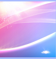 Abstract blue lights background vector