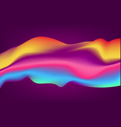 abstract curve background colorful gradients vector image