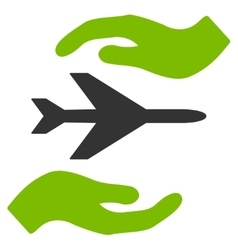 Airplane Care Icon vector