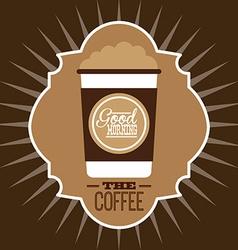 coffee shop vector image