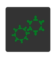 Collaboration Icon from Commerce Buttons OverColor vector image