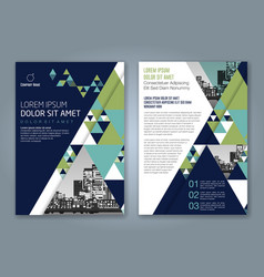 Cover annual report 802 vector