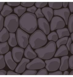 Dark stone seamless vector