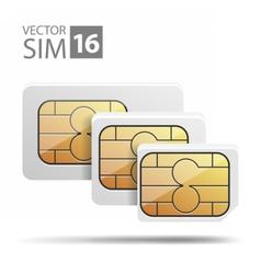 NanoMicroSimSet03 vector image