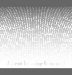 perspective abstract gray technology background vector image